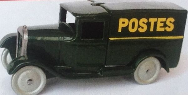 CLUB DINKY FRANCE MODEL No. CDF26 FOURGONNETTE POSTALE